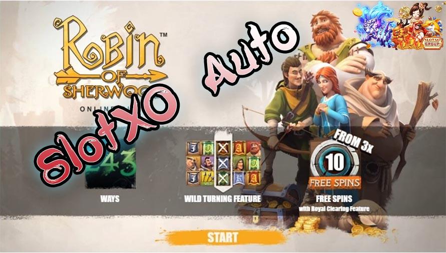 รีวิวสล็อต Robin of Sherwood -slotxo
