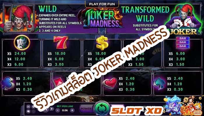 Joker Madness 00