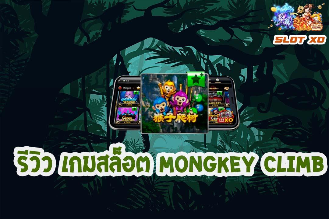 รีวิวเกมสล็อต Monkey Climb 2021