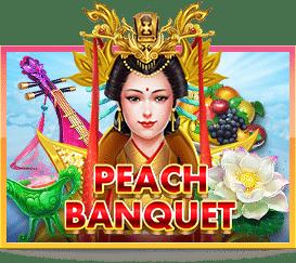 Slotxo Peach Banquet มือถือ เครดิตฟรี 100 บาท ถอนได้ 500 บาท